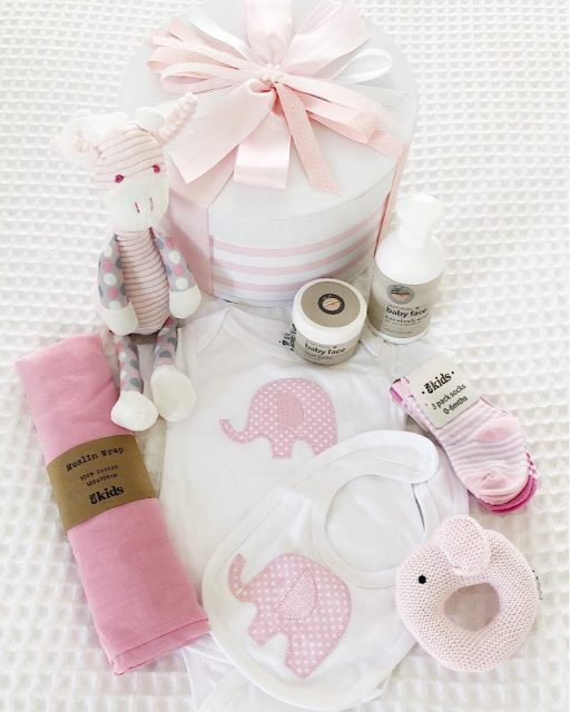 Baby Girl Hat Box Grand