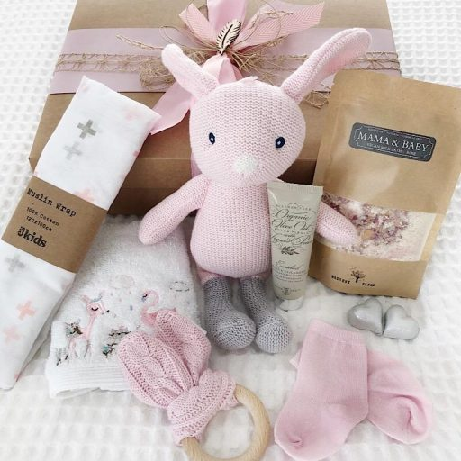 Mum and Bub Gift Box Pink