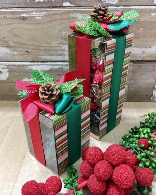 Santa's Stash Chocolate Box