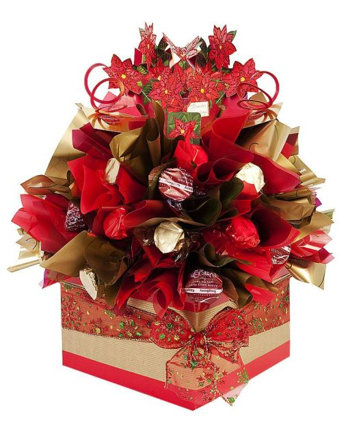 Poinsettia Truffle Tree